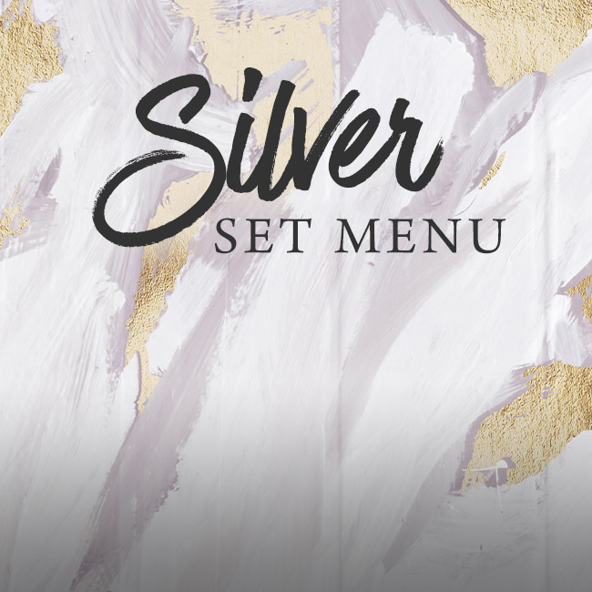 Silver set menu at The Kings Arms