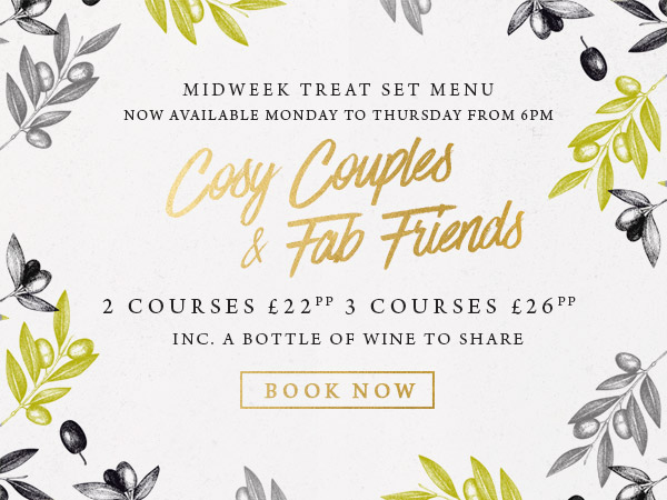Midweek treat at The Kings Arms - Book now